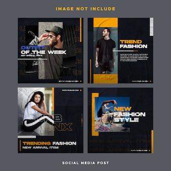 Projektowanie postów w mediach społecznościowych instagram