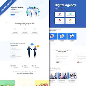 Projektowanie stron internetowych agencji cyfrowej