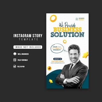 Promocja Biznesu I Szablon Projektu Historii Firmy Na Instagramie Premium Psd