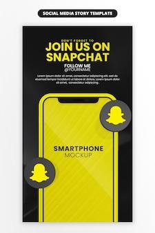 Promocja strony biznesowej ze smartfonem dla mediów społecznościowych i szablonu historii na instagramie