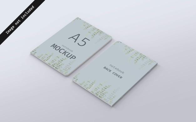 Przednia i tylna pokrywa makiety notebooka