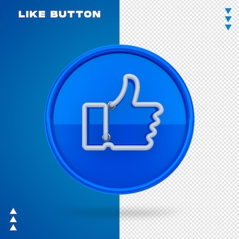 Przycisk Jak Neon Premium Psd