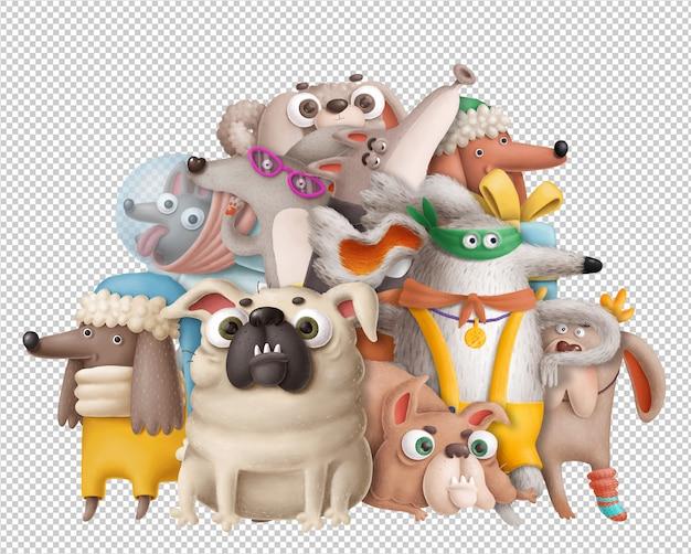 Psy rysunkowe