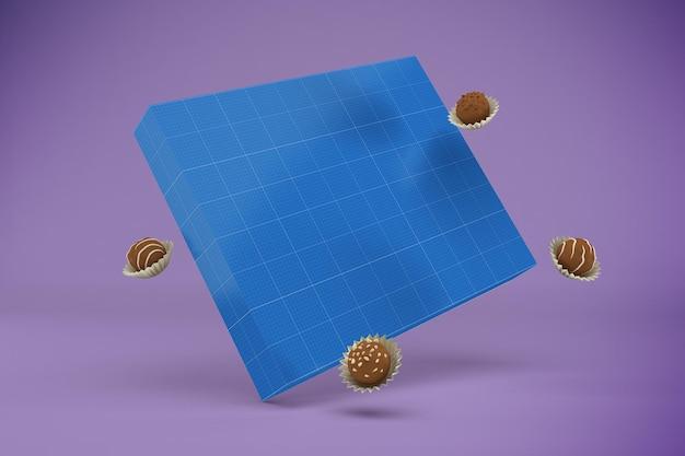 Pudełko czekoladowe