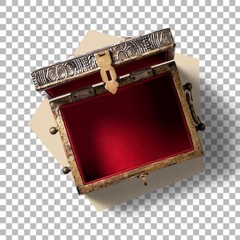 Pudełko na biżuterię wykonane ręcznie z bliska