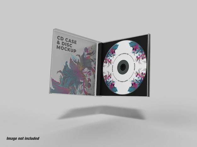 Pudełko na płytę cd i makieta płyty