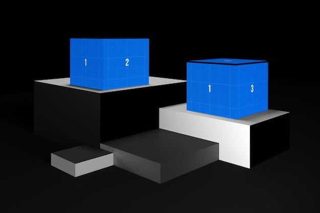 Pudełko na poziomach