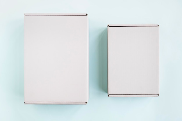 Pudełko na prezent i projekt opakowania