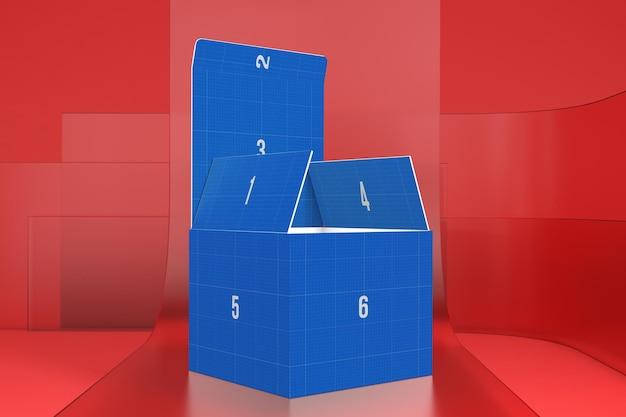 Pudełko na szkle