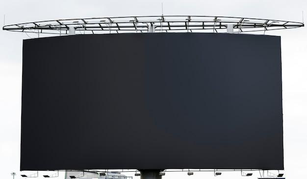 Puste billboard makieta