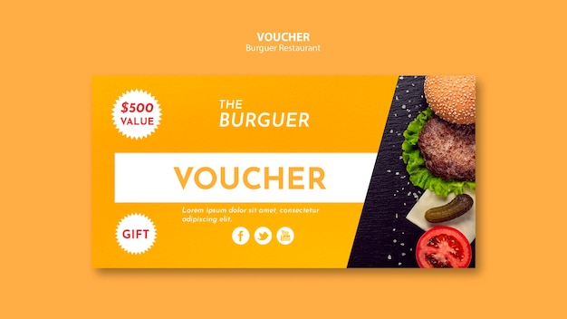 Pyszny kupon na burgery fast food