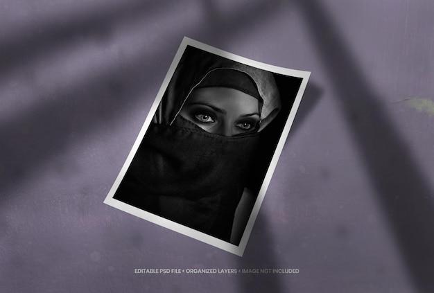 Ramka na zdjęcia portretowe z nakładką cienia
