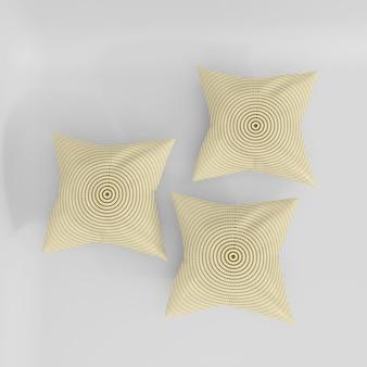 Realistyczna makieta poduszki 3d