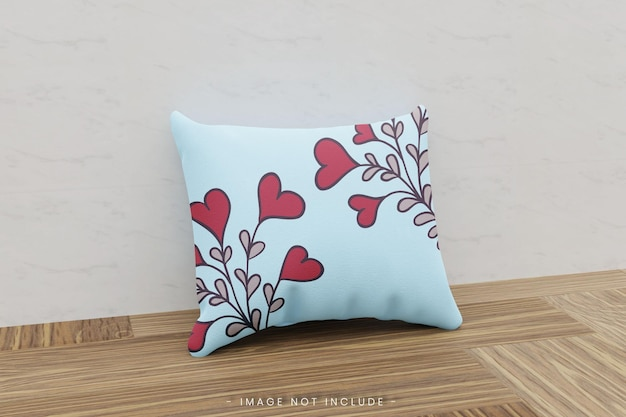 Realistyczna makieta poduszki