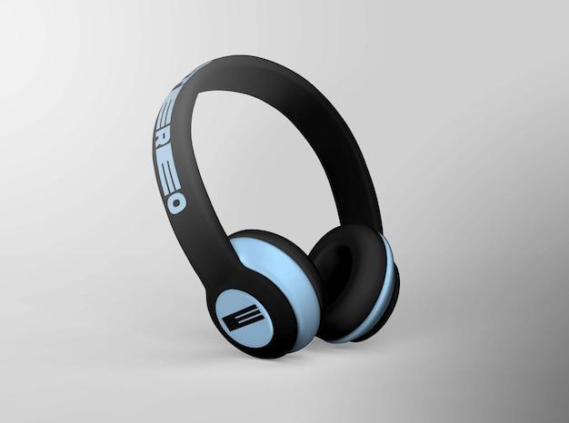 Realistyczna makieta projektu słuchawek