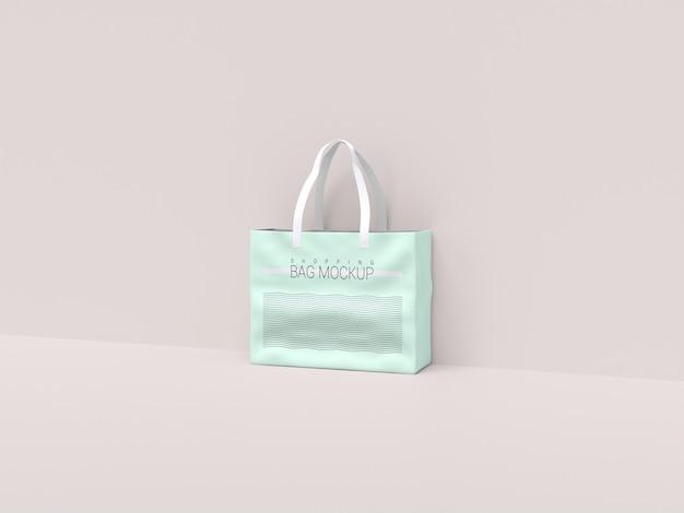 Realistyczna makieta torby na zakupy