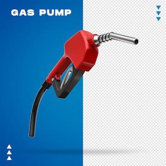 Realistyczna pompa gazu 3d