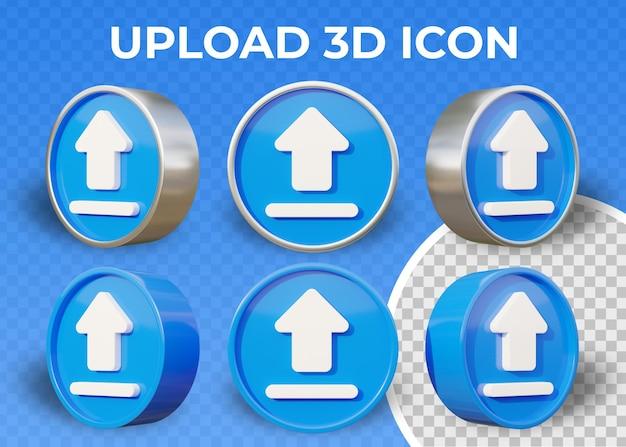 Realistyczne płaskie trofeum na białym tle 3d ikona