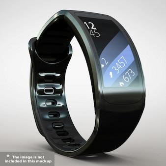 Realistyczne smartwatch prezentacja