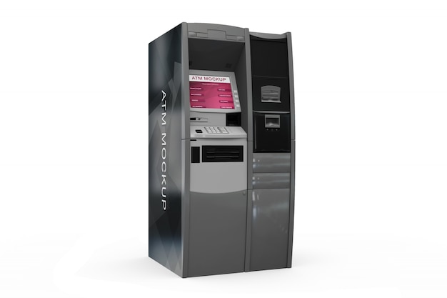 Realistyczny desgin bankomatowy