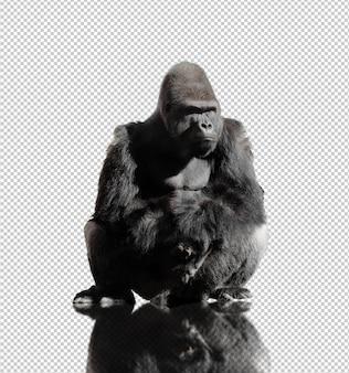 Realistyczny goryl