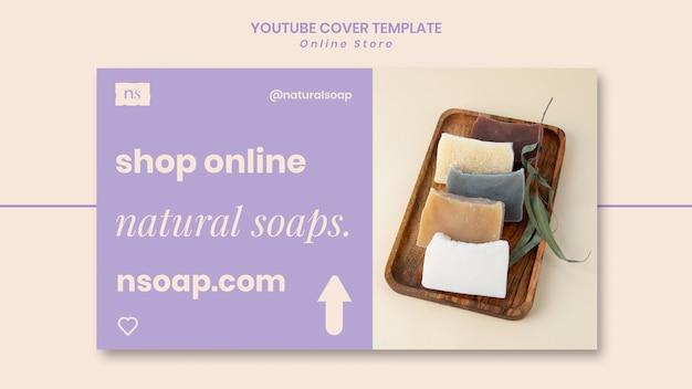 Ręcznie robiona okładka youtube mydła