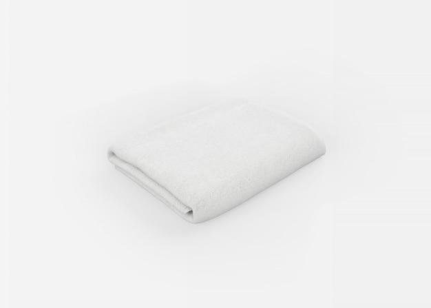 Ręcznik na białym tle