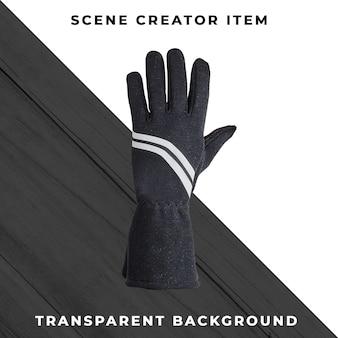 Rękawiczki odizolowywać z ścinek ścieżką.