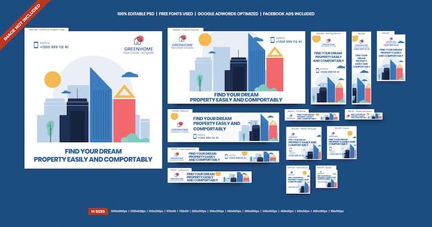 Reklama banerów nieruchomości