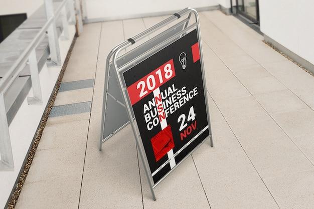 Reklama zewnętrzna makieta stoiska