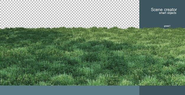 Renderowania 3d renderowania scenerii przyrody