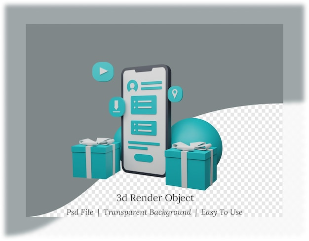 Renderowanie 3d aplikacji mobilnych