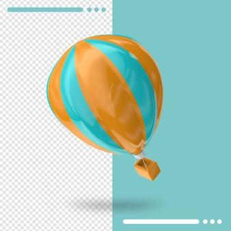 Renderowanie 3d balonu powietrznego