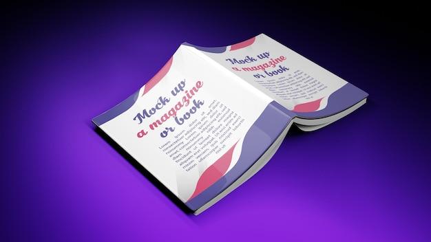 Renderowanie 3d dla okładki książki makiety