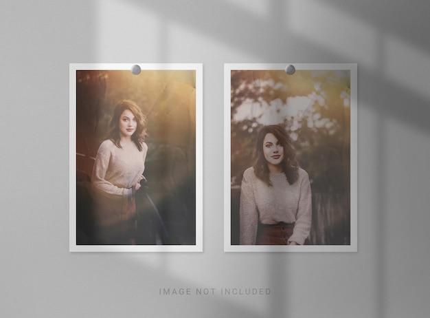 Renderowanie makiety portretowej ramki na zdjęcia