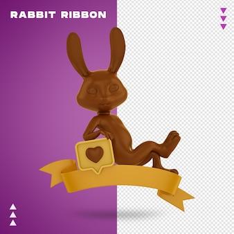 Renderowanie projektu wstążki królika