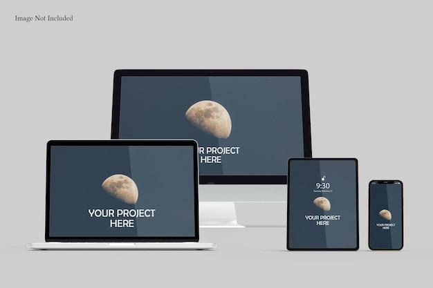 Responsywna makieta ekranu