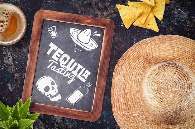Restauracja meksykańska makieta