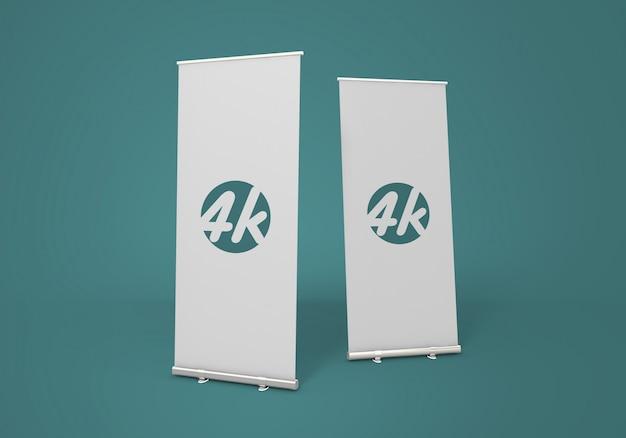 Roll-up banner mockup