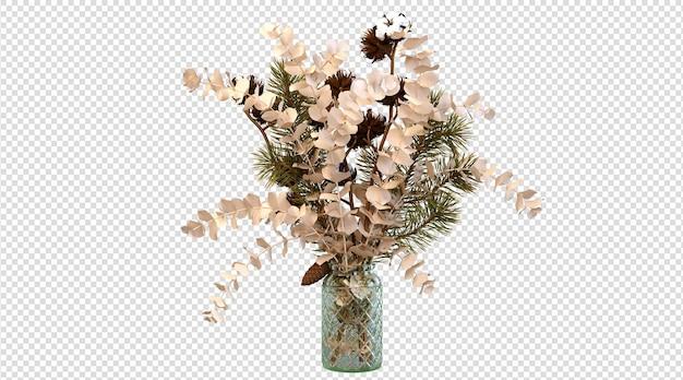 Rośliny domowe renderowanie 3d