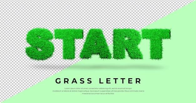 Rozpocznij renderowanie listów trawy