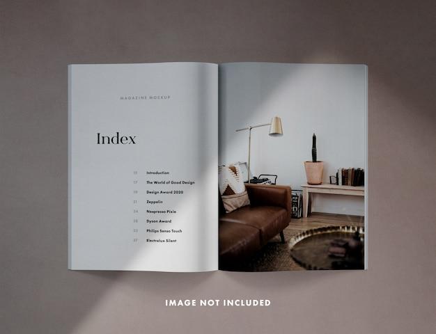 Rozprzestrzenianie czasopisma z nakładkami cieni