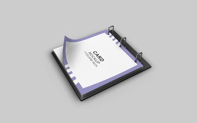 Schludny i czysty po prostu zaprojektowany piękny kalendarzowy model