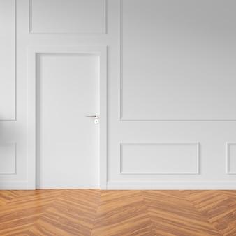 Ściana z pustymi drzwiami
