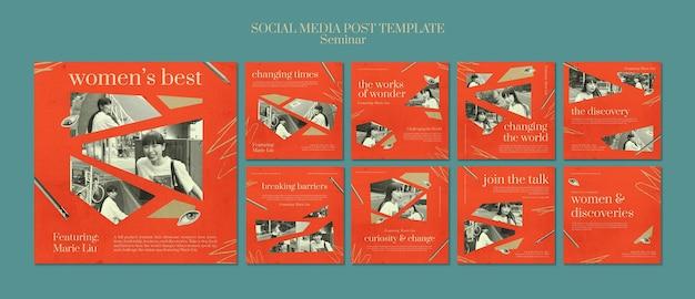 Seminaria na temat feminizmu w mediach społecznościowych