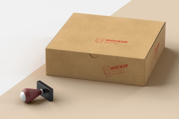 Skład pieczęci i oznakowanego pudełka