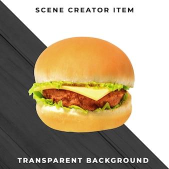 Składnik burger przezroczysty psd
