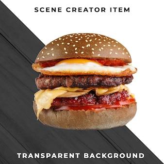 Składnik Burger Przezroczysty Psd Premium Psd