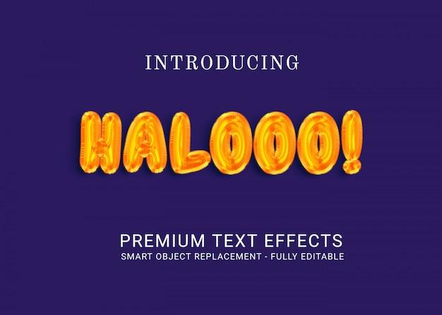 Śliczny efekt tekstowy