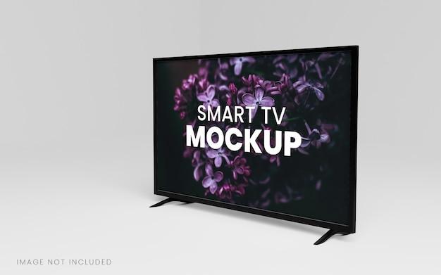 Smart Tv Makieta Renderowania 3d Premium Psd